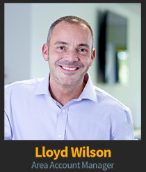 Lloyd WIlson, Area Account Manager