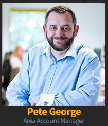 Pete George, Area Account Manager
