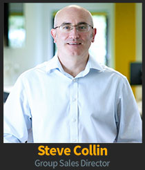Steve Collin, Group Sales Director